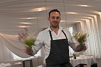 Europe/France/Auverne/63/Puy-de-Dôme/Durtol: Xavier Beaudiment dans son  Restaurant: Le Pré Carré [Non destiné à un usage publicitaire - Not intended for an advertising use]