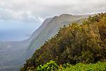 Cliffs Of Kalaupapa Peninsula