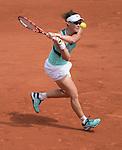 May 27, 2016:  Samantha Stosur (AUS) defeated Lucie Safarova (CZE) 6-3, 6-7, 7-5, Roland Garros being played at Stade Roland Garros in Paris, France.  ©Leslie Billman/Tennisclix/CSM