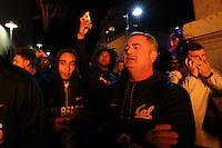 BERKELEY, CA - November 17, 2016: Big Game Bonfire Rally