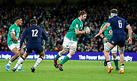 Saturday 1st February 2020 | Ireland vs Scotland<br /> <br /> Iain Henderson during the 2020 6 Nations Championship   clash between Ireland and Scotland at he Aviva Stadium, Lansdowne Road, Dublin, Ireland. Photo by John Dickson / DICKSONDIGITAL