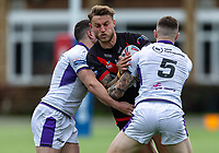 Chris Hankinson (on loan from Wigan) of London Broncos during the Betfred Championship match between London Broncos and Newcastle Thunder at The Rock, Rosslyn Park, London, England on 9 May 2021. Photo by Liam McAvoy.
