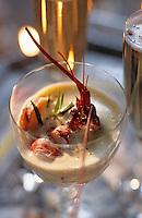 Europe/France/Bretagne/29/Finistère/Concarneau: Homard en chaud-froid sabayon au corail et au champagne au chateau de Keriolet