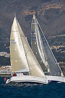 Esp 7557  .Almaran  .Manel López  .David Regué  .CN El Balis  .dufour 34 XXII Trofeo 200 millas a dos - Club Náutico de Altea - Alicante - Spain - 22/2/2008