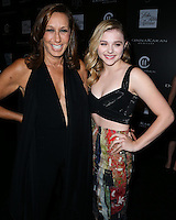 CULVER CITY, CA, USA - OCTOBER 08: Donna Karan, Chloe Grace Moretz arrive at the 5th Annual PSLA Autumn Party benefiting Children's Institute, Inc. held at 3Labs on October 8, 2014 in Culver City, California, United States. (Photo by Xavier Collin/Celebrity Monitor)
