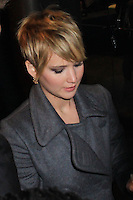 """NEW YORK, NY - NOVEMBER 20: Jennifer Lawrence at the New York Premiere Of Lionsgate's """"The Hunger Games: Catching Fire"""" held at AMC Lincoln Square Theater on November 20, 2013 in New York City. (Photo by Jeffery Duran/Celebrity Monitor)"""
