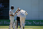 Jacob Oram. Test cricket: New Zealand v England. 15 March 2008, Basin Reserve, Wellington.