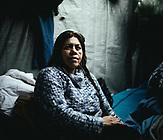 Parian Amiri, 38, aus Herat, Afghanistan, Moria, Lesbos, Griechenland