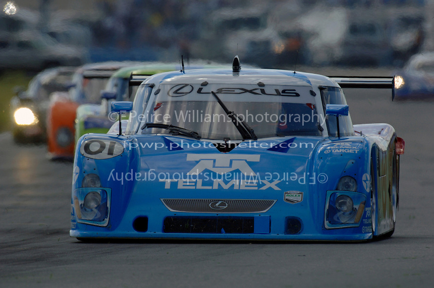 The #01 Chip Ganassi Racing Lexus/Riley of Scott Pruett, Juan Pablo Montoya and Salvador Duran.