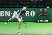 ABN AMRO World Tennis Tournament, Rotterdam, The Netherlands, 13 februari, 2017, Marcel Granollers (ESP)<br /> Photo: Henk Koster