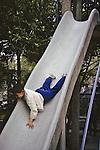 Boy On Slide