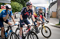 Belgian National Champion Wout van Aert (BEL/Jumbo-Visma) post-race<br /> <br /> Stage 3 from Lorient to Pontivy (183km)<br /> 108th Tour de France 2021 (2.UWT)<br /> <br /> ©kramon