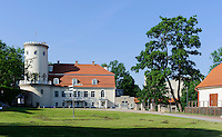 Neues Schloss in Cesis, Lettland, Europa