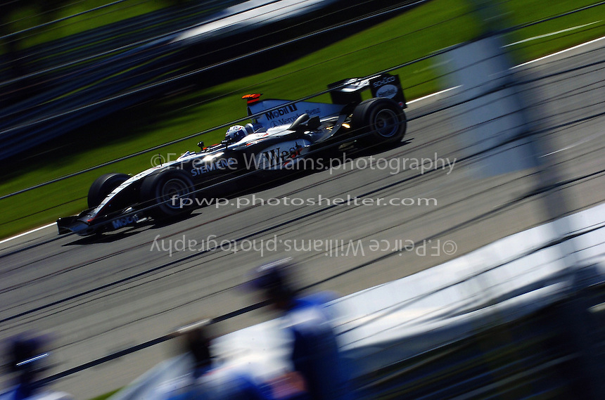 David Coultard (#8-McLaren)