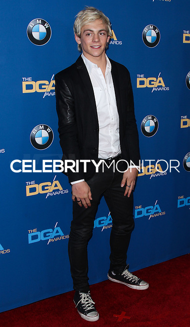 CENTURY CITY, CA - JANUARY 25: Ross Lynch at the 66th Annual Directors Guild Of America Awards held at the Hyatt Regency Century Plaza on January 25, 2014 in Century City, California. (Photo by Xavier Collin/Celebrity Monitor)