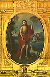 Mexico, Baja California Sur, San Ignacio, Mission San Ignacio Kadakaanman Releigious Painting