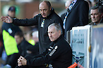 St Johnstone v Inverness Caledonian Thistle...05.10.13      SPFL<br /> Terry Butcher and Maurice Malpas look on<br /> Picture by Graeme Hart.<br /> Copyright Perthshire Picture Agency<br /> Tel: 01738 623350  Mobile: 07990 594431