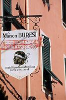 France/Corse/Corse-du-Sud/2A/Ajaccio: Enseigne d'une épicerie fine