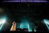 SÃO PAULO, SP 09.06.2019: LILY ALLEN-SP - A cantora britânica Lily Allen se apresentou no 23º Cultura Inglesa Festival, que aconteceu na tarde deste domingo (09) no Memorial da América Latina, zona oeste da capital paulista. (Foto: Ale Frata/Codigo19)