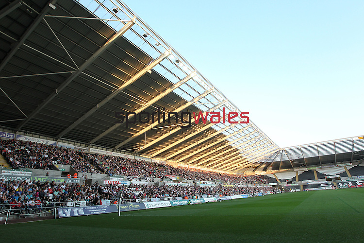 General view of the Liberty Stadium..Magners League.Ospreys v Munster.Liberty Stadium.23.04.11.Credit - Steve Pope - Sportingwales.