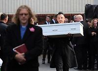2017 08 18 Funeral of Pearl Black in Merthyr Tydfil, Wales, UK