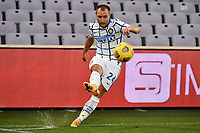 Christian Eriksen of FC Internazionale in action during the Italy Cup round of 16 football match between ACF Fiorentina and FC Internazionale at Artemio Franchi stadium in Firenze (Italy), January 13th, 2021. Photo Andrea Staccioli / Insidefoto
