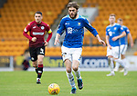 St Johnstone v St Mirren…27.10.18…   McDiarmid Park    SPFL<br />Murray Davidson rampages forward<br />Picture by Graeme Hart. <br />Copyright Perthshire Picture Agency<br />Tel: 01738 623350  Mobile: 07990 594431