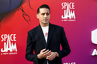LOS ANGELES - JUL 12:  G-Eazy at the Space Jam:  A New Legacy Premiere at the Microsoft Theater on July 12, 2021 in Los Angeles, CA