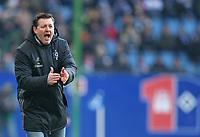 17.03.2018, Football 1. Bundesliga 2017/2018, 27.  match day, Hamburger SV - Hertha BSC Berlin, Volksparkstadium Hamburg. Trainer Christian Titz (Hamburg)  *** Local Caption *** © pixathlon<br /> <br /> +++ NED out !!! +++<br /> Contact: +49-40-22 63 02 60 , info@pixathlon.de