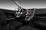 Passenger side dashboard view of a 2011 Toyota Verso-S Terra 5 Door Hatchback.