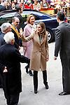 Princess Letizia of Spain visits Alcaniz village on November 7, 2012 in Alcaniz, Teruel, Spain.(ALTERPHOTOS/Harry S. Stamper)