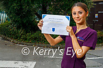 Kerry College's student Edel Joy from Lisselton, was awarded a 'Best in Ireland' award from CIDESCO International at the recent CIDESCO Congress 2021 International Virtual Makeup and Body Art Competition
