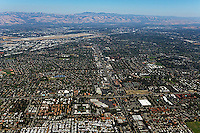 aerial photograph Santa Clara, Santa Clara county, Silicon Valley,  California