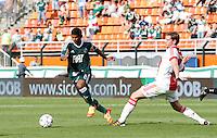 SÃO PAULO,SP, 14 JANEIRO 2011 - AMISTOSO PALMEIRAS X AJAX (HOL)<br /> Durante  partida entre as equipes do Palmeiras X Ajax (hol) realizada no  Estádio Paulo Machado de Carvalho (Pacaembu) na zona oeste de São Paulo, neste Sabado (14). (FOTO: ALE VIANNA - NEWS FREE).
