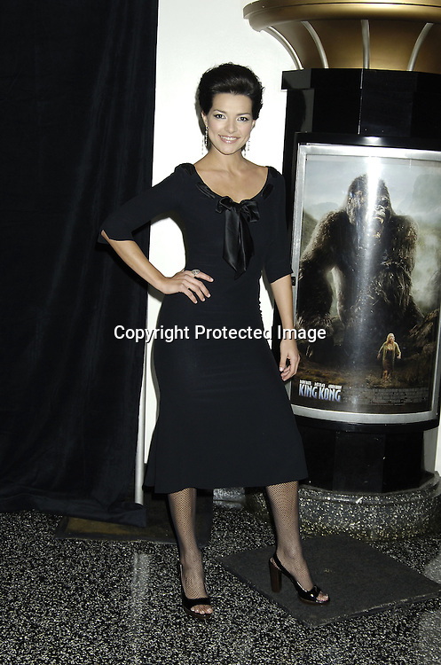 """Candela Ferro ..at The World Premier of Universal Pictures """" King Kong"""" ..on December 5, 2005 at The Loews E-Walk. ..Photo by Robin Platzer, Twin Images"""