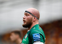27th March 2021; Brentford Community Stadium, London, England; Gallagher Premiership Rugby, London Irish versus Bath; Ollie Hoskins of London Irish