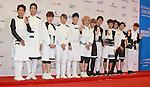 ToppDogg, Jun 07, 2014 : K-pop boy band ToppDogg pose before the Dream Concert in Seoul, South Korea. (Photo by Lee Jae-Won/AFLO) (SOUTH KOREA)