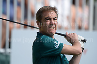 Actor James Nesbitt during The 2017 Celebrity Cup golf tournament at the Celtic Manor Resort, Newport, South Wales. 1.07.2017 <br /> <br /> <br /> Jeff Thomas Photography -  www.jaypics.photoshelter.com - <br /> e-mail swansea1001@hotmail.co.uk -<br /> Mob: 07837 386244 -