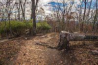 Fine Art Landscape Photograph of Mount Kennesaw, National Battlefield Park, in Atlanta, Georgia. <br /> This lovely fall colors scene of the battle site of the 1864 Kennesaw Mountain civil war. The Union forces of General William Tecumseh Sherman attacked the Confederate Army which was commanded by General Joseph E. Johnston.