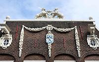 Nederland - Amsterdam- 2020.   Oostenburgergracht. De Admiraliteitslijnbaan. De Admiraliteitslijnbaan diende oorspronkelijk als voorgebouw van de lijnbaan (touwslagerij) en opslagplaats van de Admiraliteit van Amsterdam.  Foto ANP / HH / Berlinda van Dam