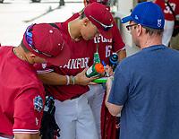 OMAHA, NE - JUNE 18: Autographs at TD Ameritrade Park Omaha on June 18, 2021 in Omaha, Nebraska.