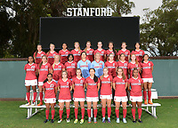 Stanford, Ca. - August 3, 2017: The Stanford Cardinal Women's Soccer Team