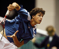 18-2-07,Netherlands, Roterdam, Tennis, ABNAMROWTT, Robin Haase in training