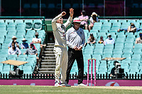 11th January 2021; Sydney Cricket Ground, Sydney, New South Wales, Australia; International Test Cricket, Third Test Day Five, Australia versus India; Marnus Labuschagne of Australia reacts after bowling