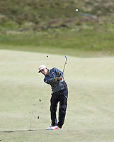 Sunday 31st May 2015; Rickie Fowler, USA, plays his approach to the 8th<br /> <br /> Dubai Duty Free Irish Open Golf Championship 2015, Round 4 County Down Golf Club, Co. Down. Picture credit: John Dickson / DICKSONDIGITAL