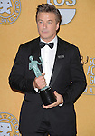 Alec Baldwin attends the 18th Annual Screen Actors Guild Awards held at The Shrine Auditorium in Los Angeles, California on January 29,2012                                                                               © 2012 Hollywood Press Agency