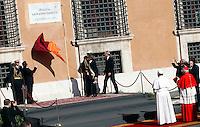 20130407 VATICANO: PAPA FRANCESCO PRENDE POSSESSO DELLA CATTEDRA ROMANA