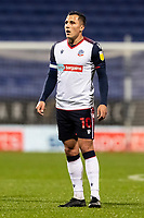 Bolton Wanderers' Antoni Sarcevic looks on <br /> <br /> Photographer Andrew Kearns/CameraSport<br /> <br /> The EFL Sky Bet League Two - Bolton Wanderers v Salford City - Friday 13th November 2020 - University of Bolton Stadium - Bolton<br /> <br /> World Copyright © 2020 CameraSport. All rights reserved. 43 Linden Ave. Countesthorpe. Leicester. England. LE8 5PG - Tel: +44 (0) 116 277 4147 - admin@camerasport.com - www.camerasport.com