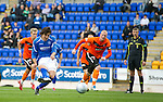 St Johnstone v Dundee United...27.08.11   SPL Week 5.Francisco Sandaza makes it 1-1 from the penalty spot.Picture by Graeme Hart..Copyright Perthshire Picture Agency.Tel: 01738 623350  Mobile: 07990 594431