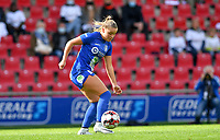 Gent's Imani Prez (11)  pictured during a female soccer game between Zulte Waregem and the KAA Gent Ladies on the fourth matchday of the 2020 - 2021 season of Belgian Scooore Womens Super League , saturday 10 October 2020  in Waregem , Belgium . PHOTO SPORTPIX.BE | SPP | DAVID CATRY